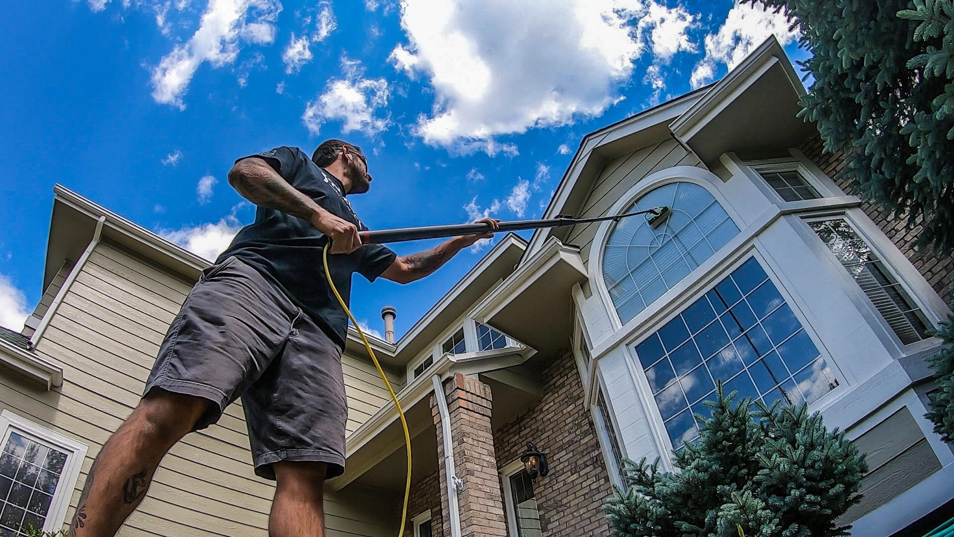 window cleaning walton surrey